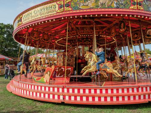 Gallopers Rides Carters Steam Fair